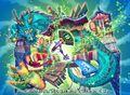 Zundoko Sunny Stage, Flowery Way of D artwork