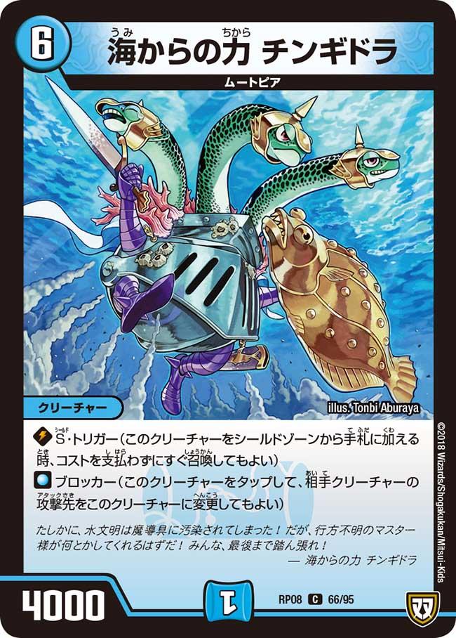 Chingidora, Power of the Sea