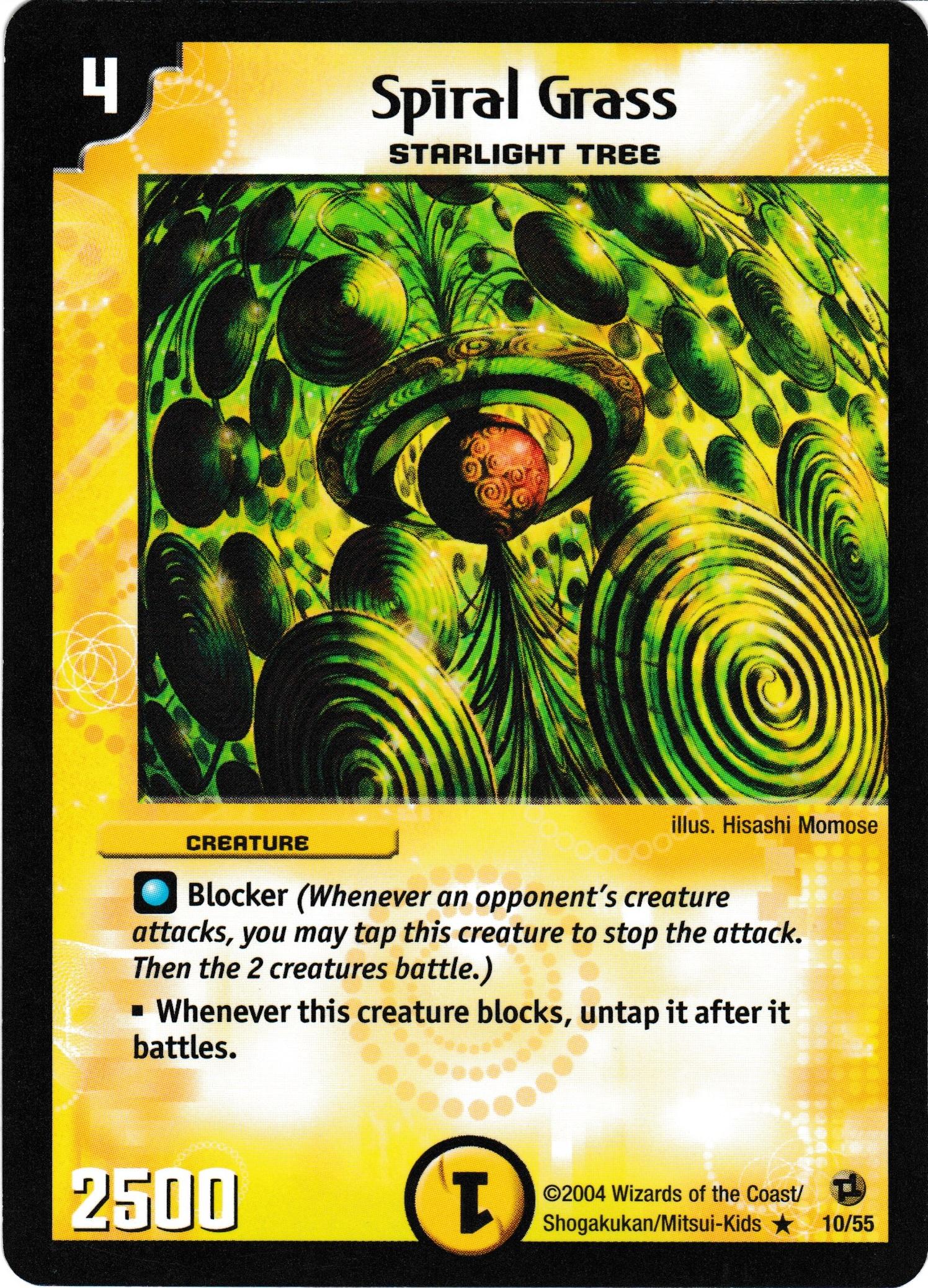 Spiral Grass