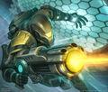 Trigaroid, Aqua Spy artwork