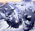 Diamondia, the Blizzard Rider artwork