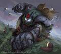 Gagamaru, Phantom Earth Beast artwork