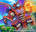 Gatsunto Daipunch, Passion Dragon artwork
