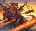 Batrevenge, Passion Dragon artwork