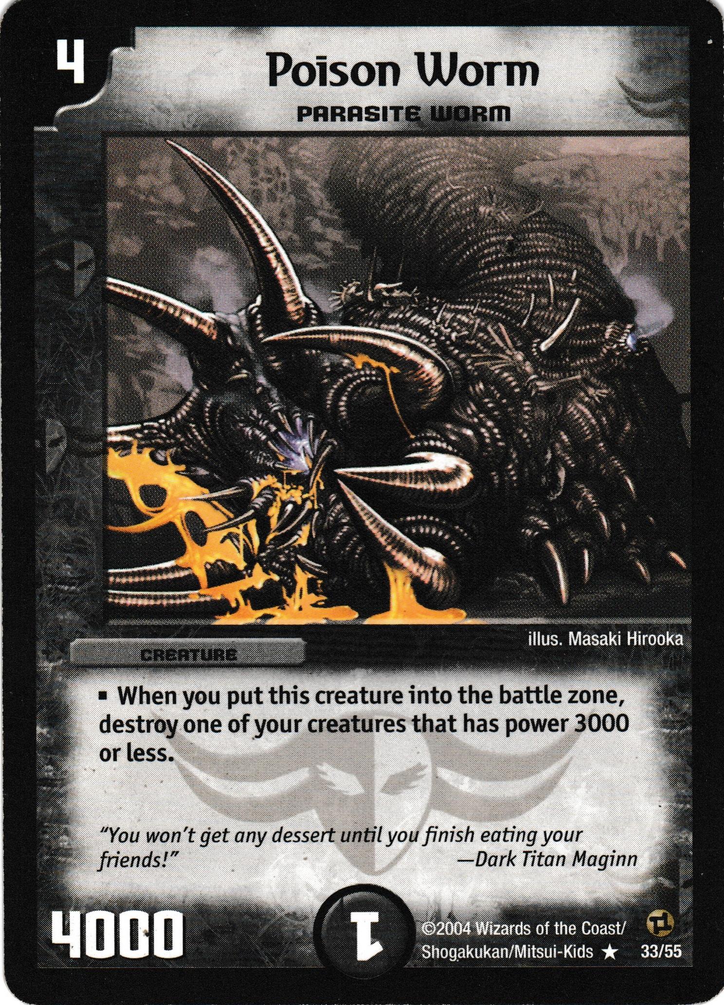 Poison Worm