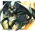Cruel Naga, Avatar of Fate artwork