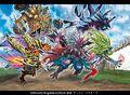 Crossbow War!! Momo Castle Tower secret artwork