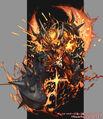 End Jaouga, Oniga Emperor Devil artwork
