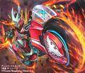 The Red, Lightning Sonic artwork