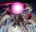 Samohan, Parasitic Battle Dragon artwork