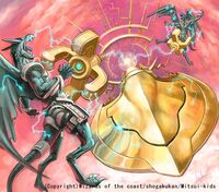 Jil Warka, Time Guardian artwork