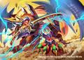 Sword Flash Bolmeteus Samurai Dragon artwork