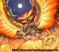 Peryuton, Bird of Fire artwork