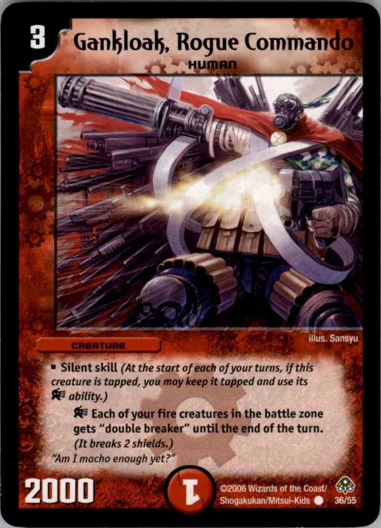 Gankloak, Rogue Commando