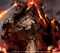 Doboulgyser, Giant Rock Beast artwork