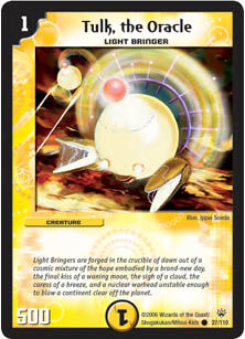 the Oracle Shockwaves of the Shattered Rainbow Duel Masters DM10 27//110 Tulk