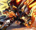 Gatling Force Dragon artwork