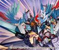 Luga Raiza, Battle Dragoon artwork