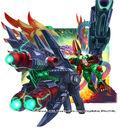 Startdash Buster, Divine Hero Mech artwork
