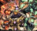 Nibai Nibai, Mysterious Fire Yokozuna artwork
