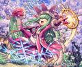 Stepple, Cherry Blossom Wind Faerie artwork