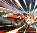 Mach Phoenix, Super-Alloy artwork