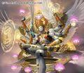Bhuddi, Three Kingdoms artwork