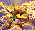 GENJI Double Cross, Blastdragon artwork