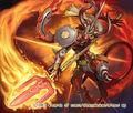 Sapian Tark, Flame Dervish artwork