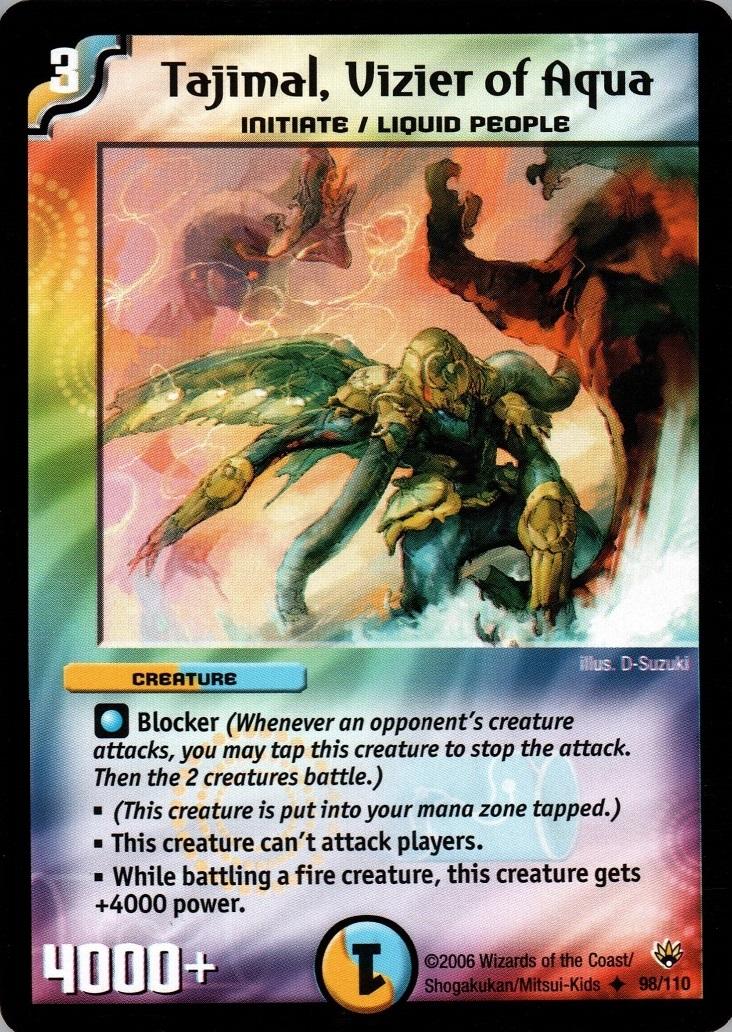 Tajimal, Vizier of Aqua