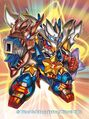The Joragon Gunstar artwork