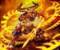 O'Flame, Temporal Djinn artwork