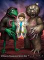 Hajime Syacho, Hundred Beast World Explorer artwork
