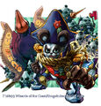 Kenji Panda Nelra, Tyrannical Shogun artwork