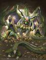Domitius, Evil Emperor of Five Dragonskind artwork