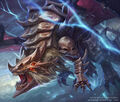 Zetsuboubaddo, Dark Demon Dragon artwork