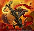 Brad, Super Kickin' Dynamo artwork