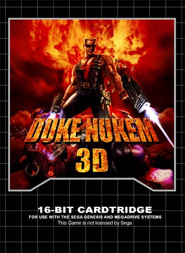 Duke Nukem 3D (Sega Genesis)