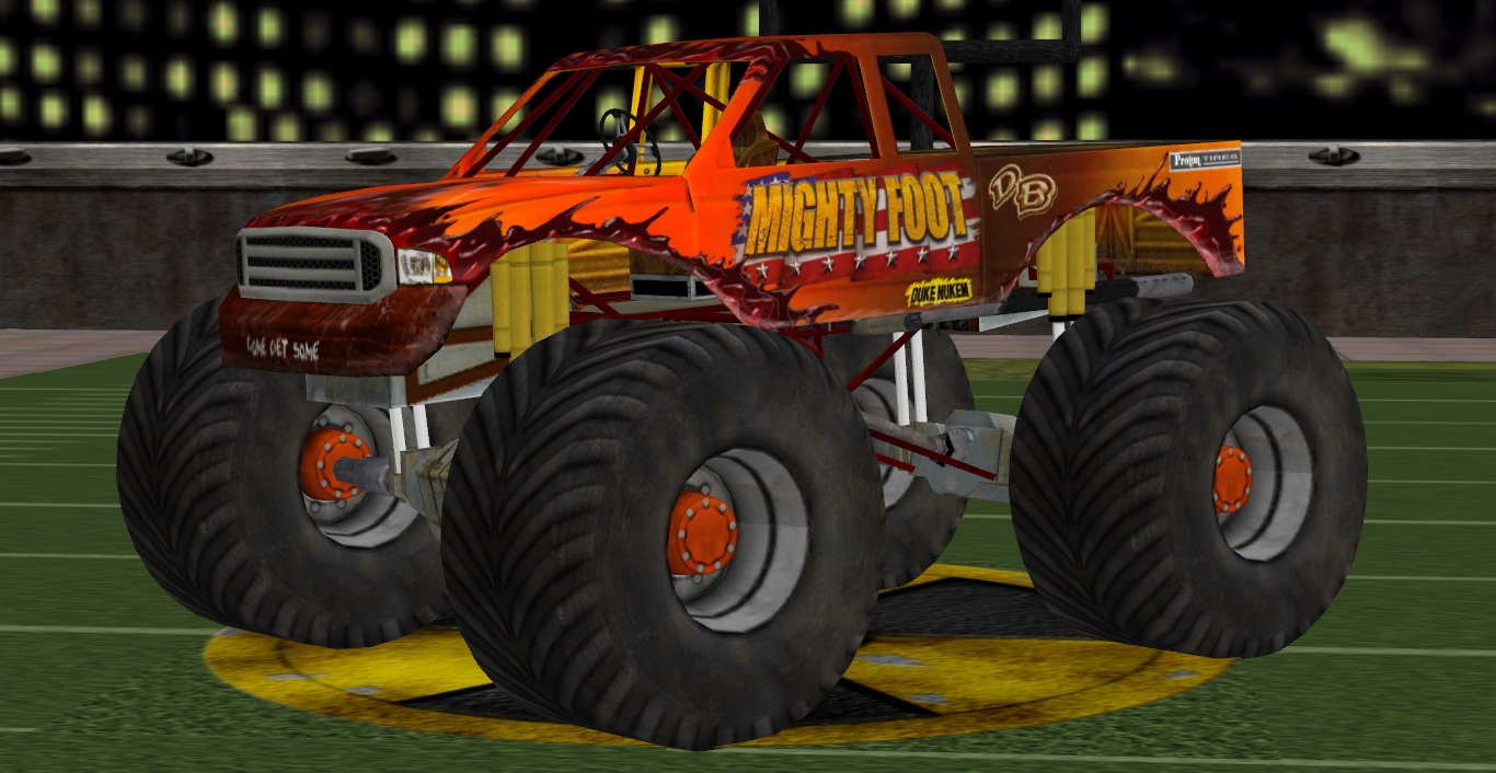 Mighty Foot (Monster Truck)