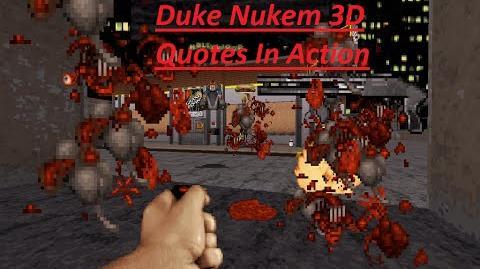 Quotes from Duke Nukem 3D