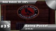 Duke Nukem 3D 100% Walkthrough- Going Postal (E4L6) -All Secrets-