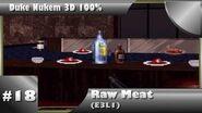Duke Nukem 3D 100% Walkthrough- Raw Meat (E3L1) -All Secrets-