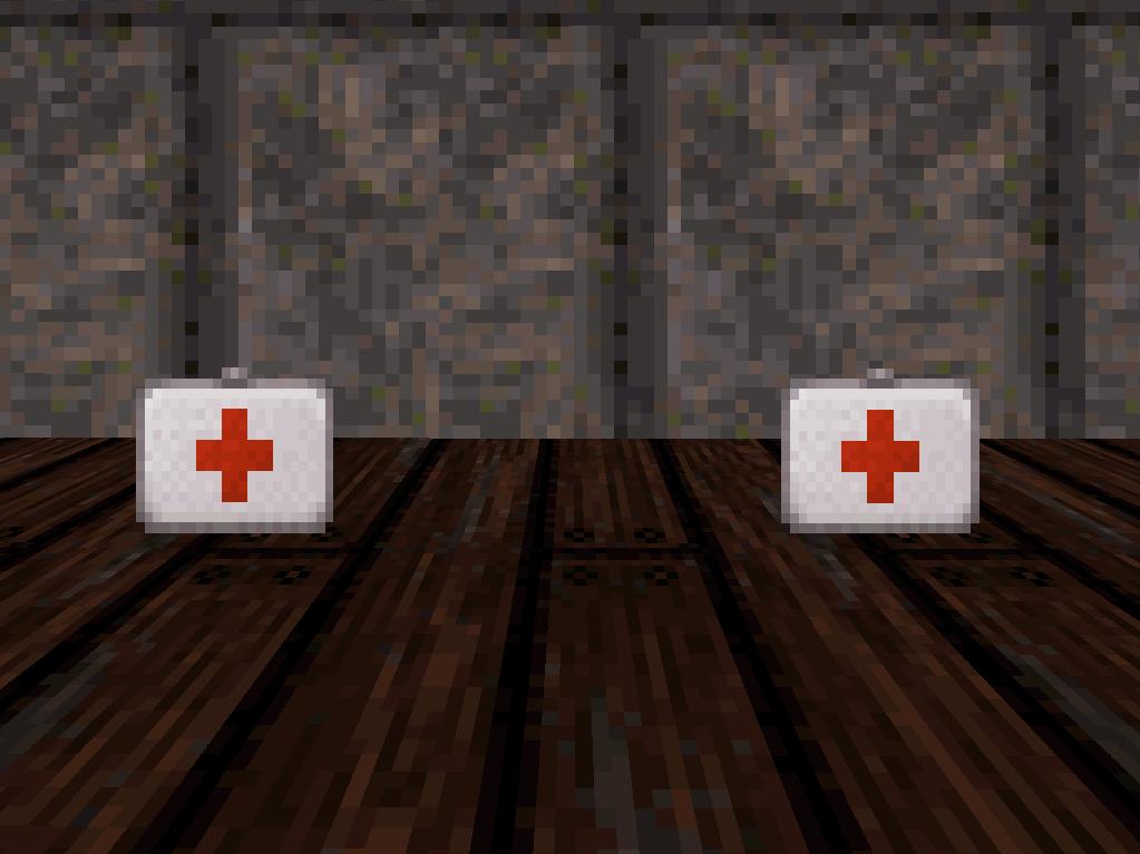 Health items in Duke Nukem 3D