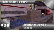 Duke Nukem 3D 100% Walkthrough- Duke-Burger (E4L2) -All Secrets-