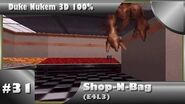 Duke Nukem 3D 100% Walkthrough- Shop-N-Bag (E4L3) -All Secrets-