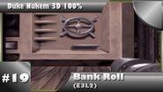 Duke Nukem 3D 100% Walkthrough- Bank Roll (E3L2) -All Secrets-