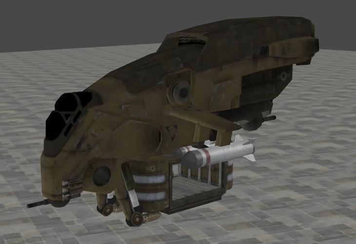 EDF Gunship