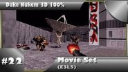 Duke Nukem 3D 100% Walkthrough- Movie Set (E3L5) -All Secrets, To Secret Level-
