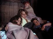 Sleeping in the barn
