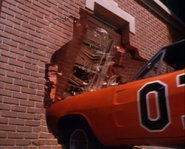 General Lee going through the hazzard courtroom